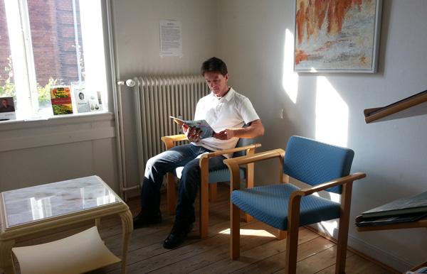 Coclo Kolding venteværelse